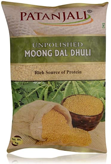 Unpolished Moong Dal Dhuli 1 kg