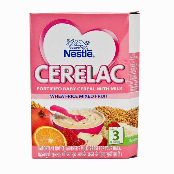 Nestle Cerelac Wheat Rice Mixed Fruit 300 gm