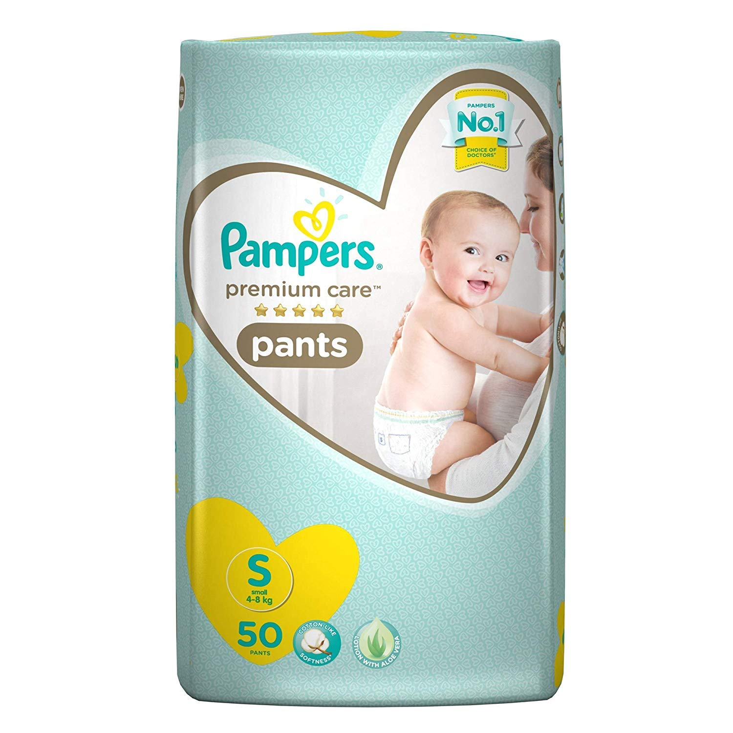 Pampers Premium Care Small - 50 Diaper Pants