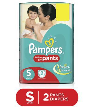 Pampers New Small- 2 Diaper Pants