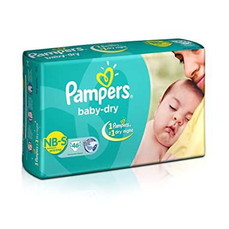Pampers New Small- 46 Diaper Pants