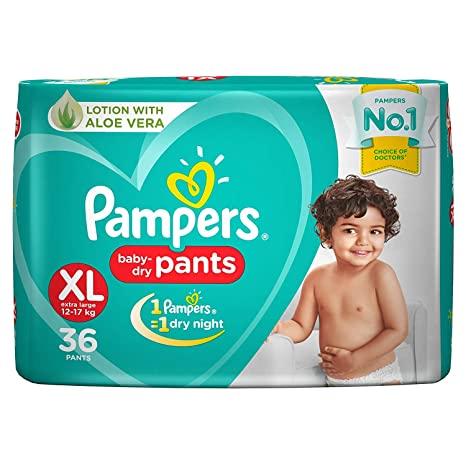 Pampers New Xtra Large- 36 Diaper Pants