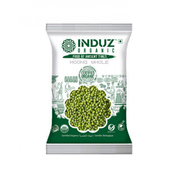 Induz Whole Moong 500 gm