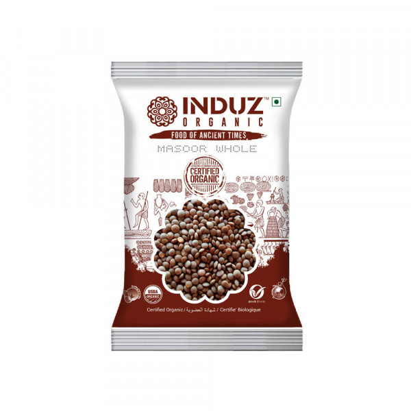 Induz Masoor Whole 500 gm