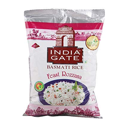 India Gate- Feast Rozana Basmati Rice 1 kg