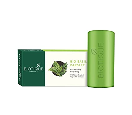 Biotique Basil And Parsley Soap, 150g