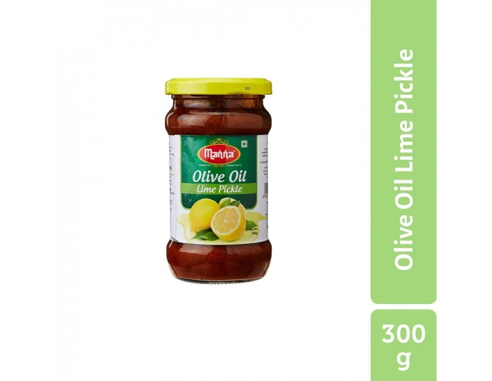 Manna Lime Olive Oil Pickle, 300g