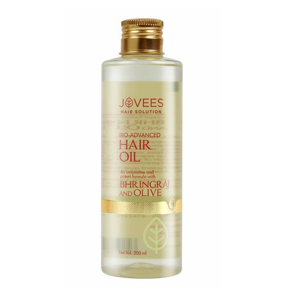 Jovees Bio-Advanced Bhringraj And Olive Hair Oil  (100 ml)