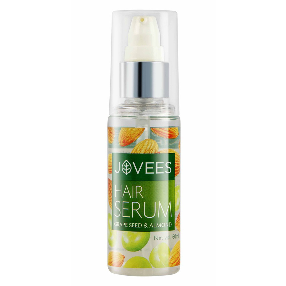 Jovees Hair Serum- Grape Seed and Almond (60ml)