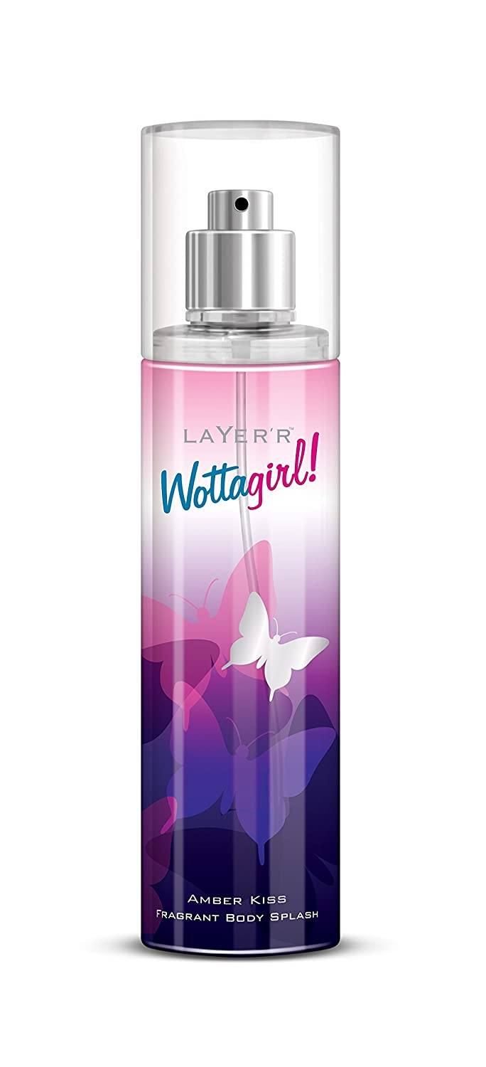 LAYER'R Shot Wottagirl Amber Kiss Body Spray (135ml)