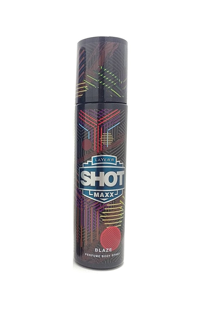 Layer'r Shot  Maxx Perfume Body Spray, Blaze, 125ml