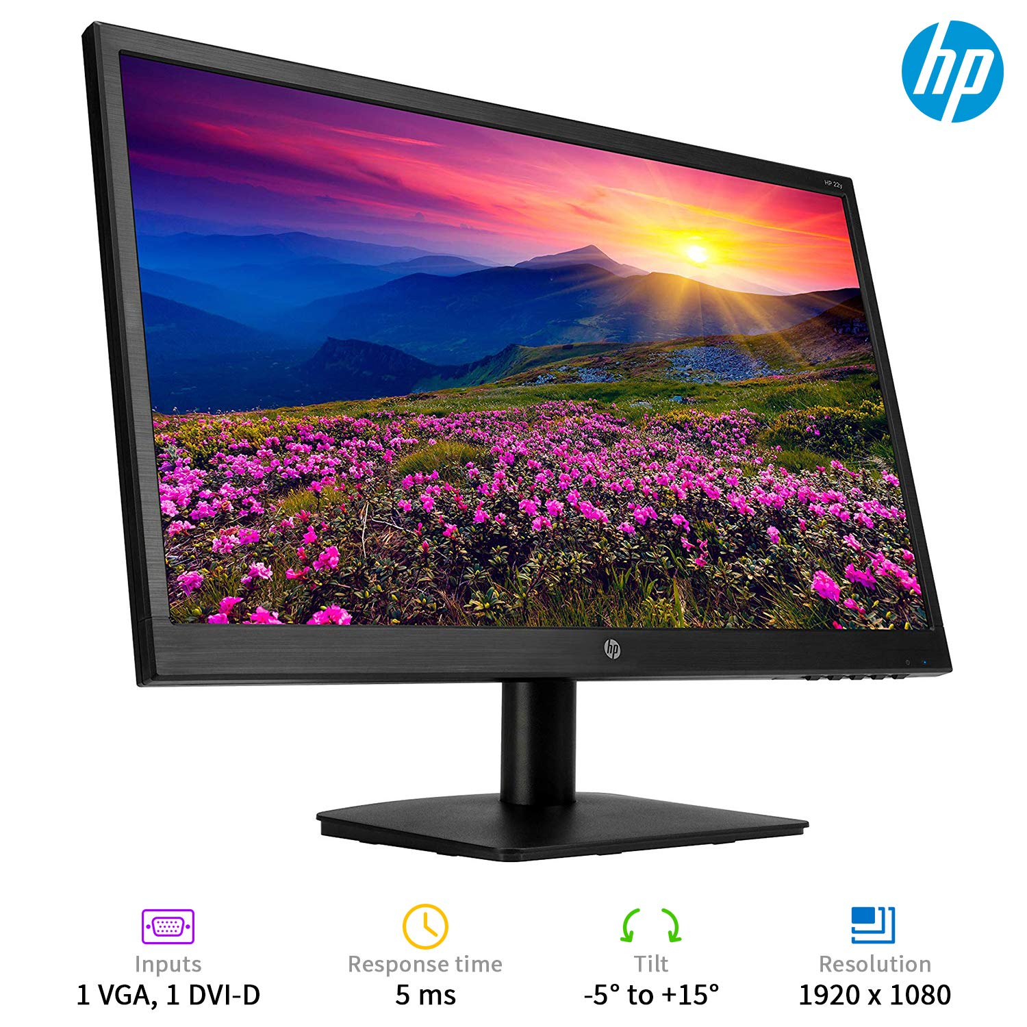 HP 22y 21.5-inch Full HD IPS Monitor