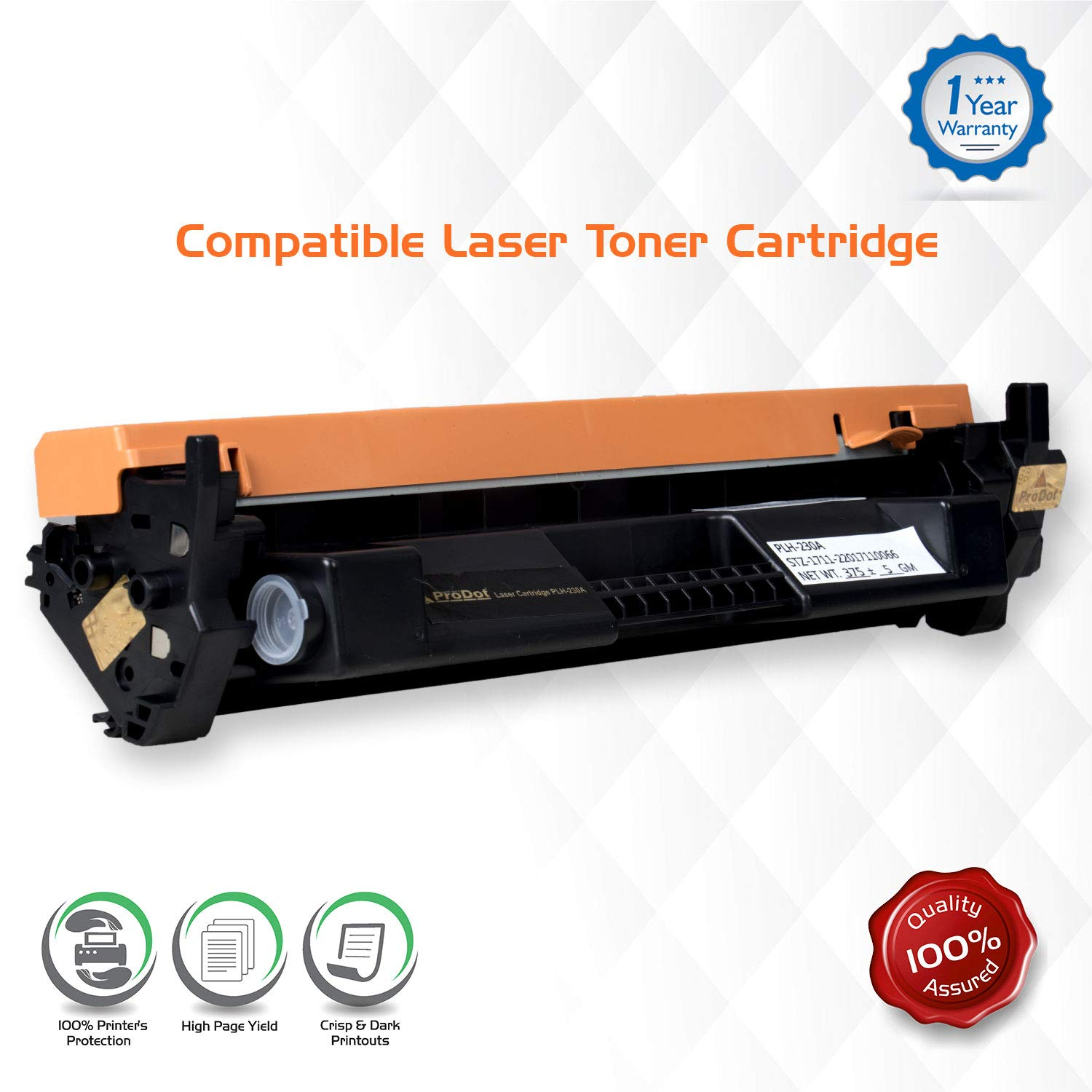ProDot PLH-230 Compatible Laser Printer Toner Cartridge for HP 2