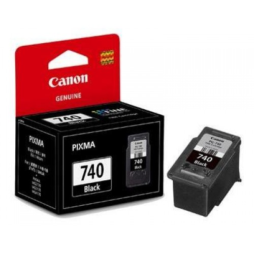 Canon Ink Cartridge Black and Colour (PG-740)
