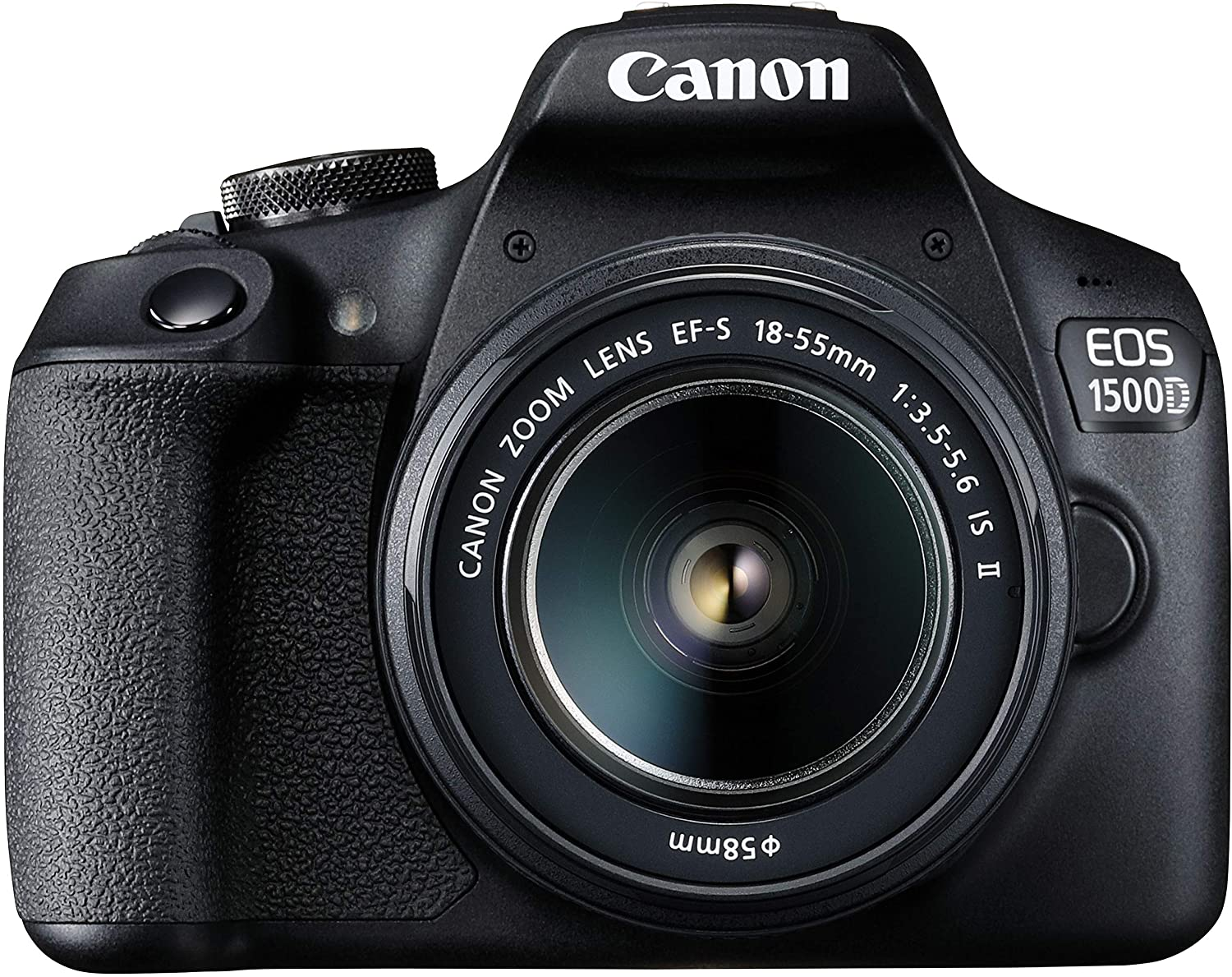 Canon EOS 1500D Digital SLR Camera (Black) with EF S18-55