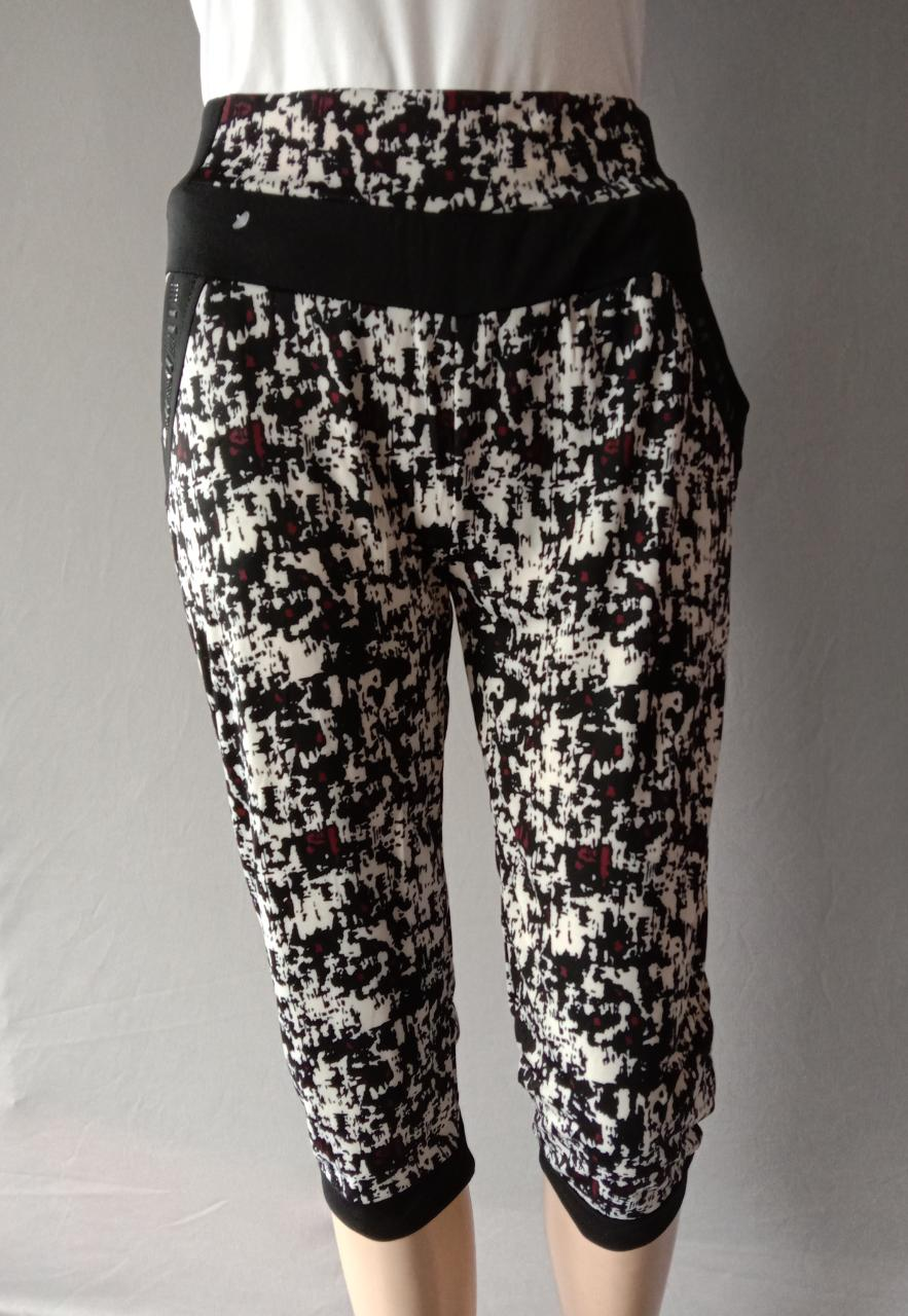 Printed Regular Fit Capris